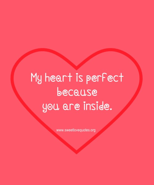 Sweet Love Quotes For Him Or Her