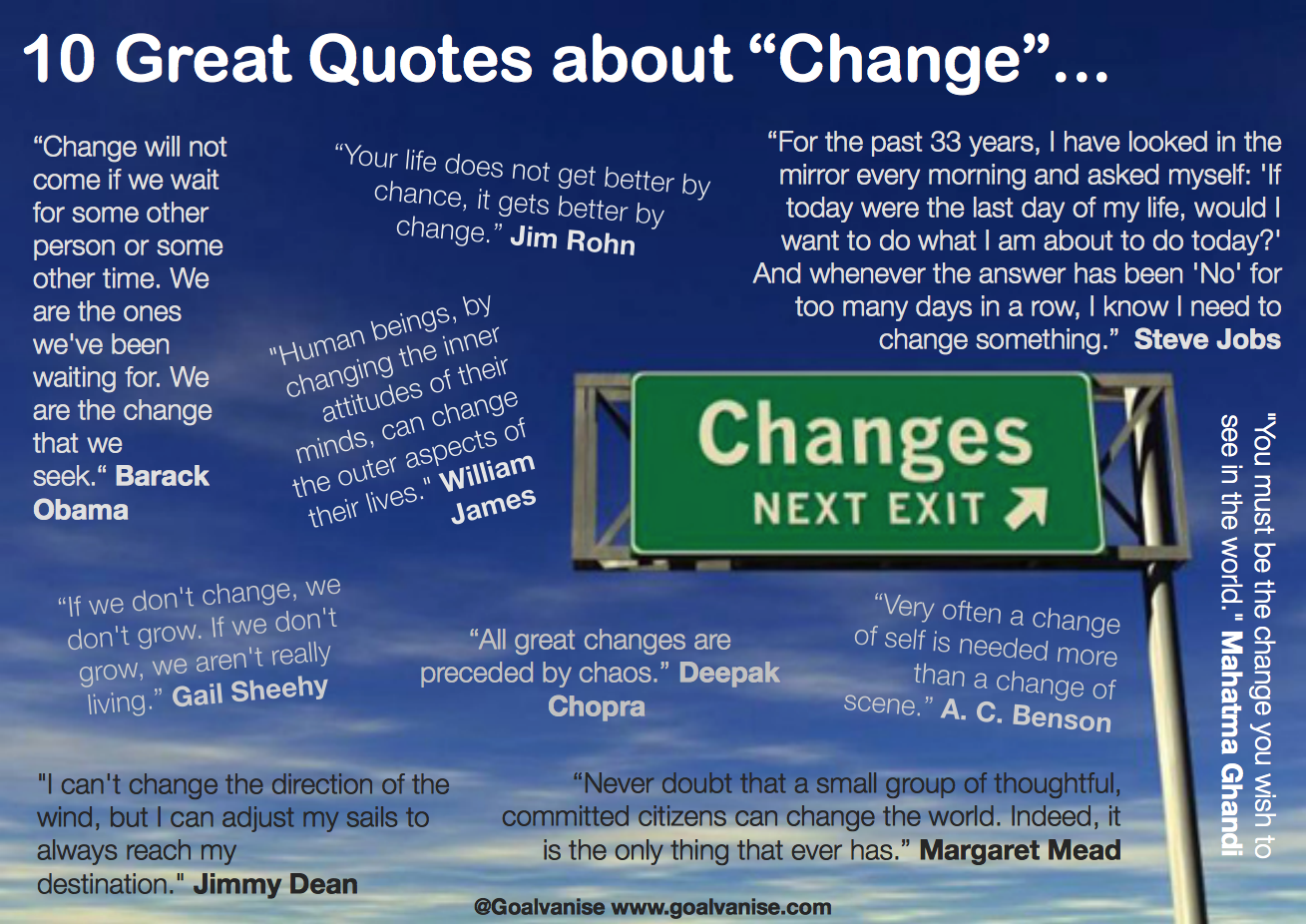 quotes about change 5