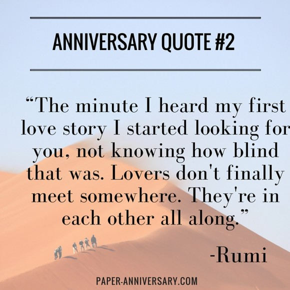 Anniversary quotes to help you say what always wanted