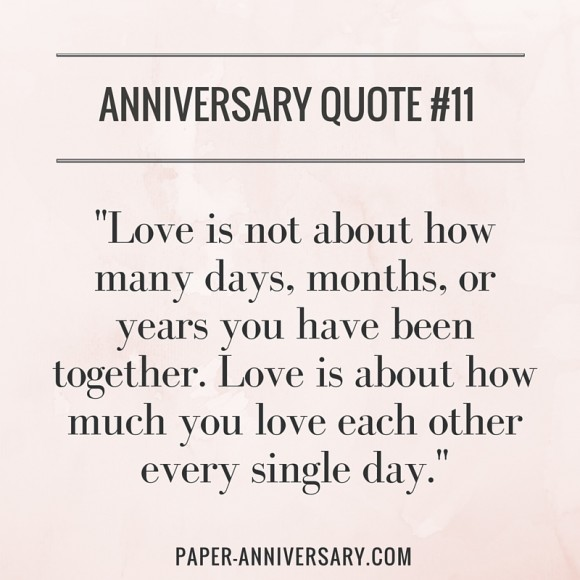 Anniversary Quote: 50 Anniversary Quotes To Help You Say What You Always Wanted