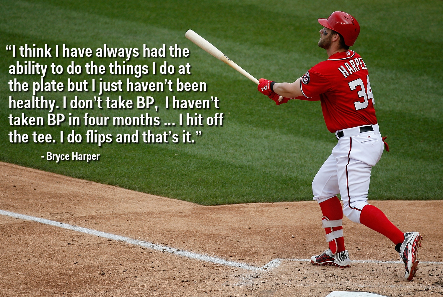 Series Consider Neat Bryce Harper Hasn39t Taken Batting Practice In 4 Months Business - About Quote