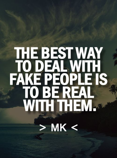 fake people quotes 1