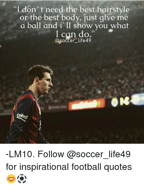 football quotes 22