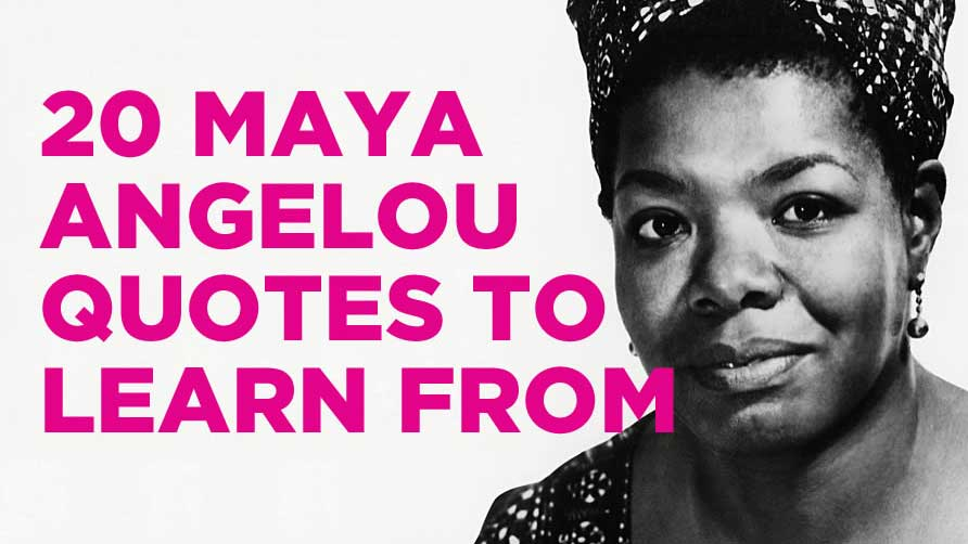 maya angelou quotes 16