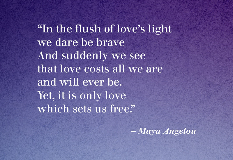 maya angelou - yet to be united states essay Touched by an angel by maya angelou we unaccustomed to courage exiles from delight live coiled in shells of loneliness until love leaves its high holy temple and comes into our sight to  page.