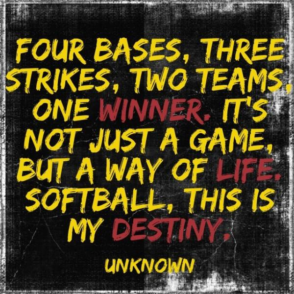 softball quotes 50
