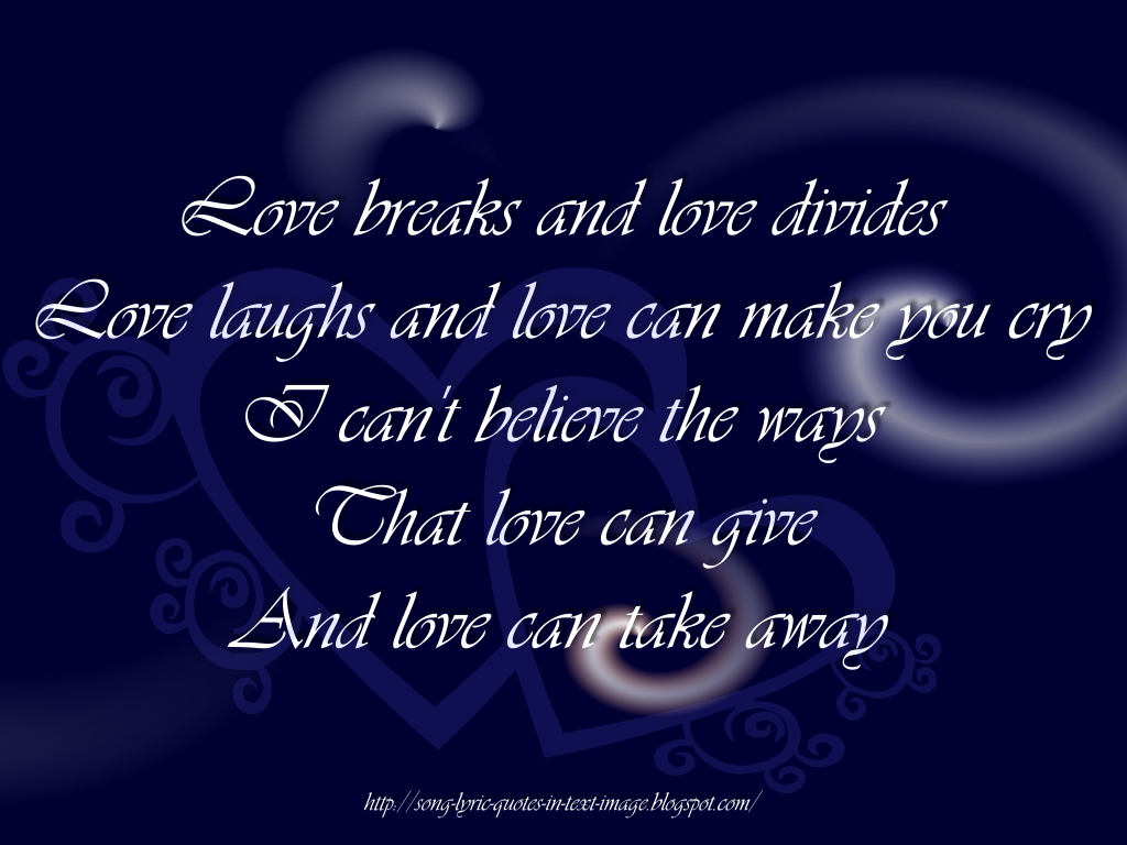 song quotes 46