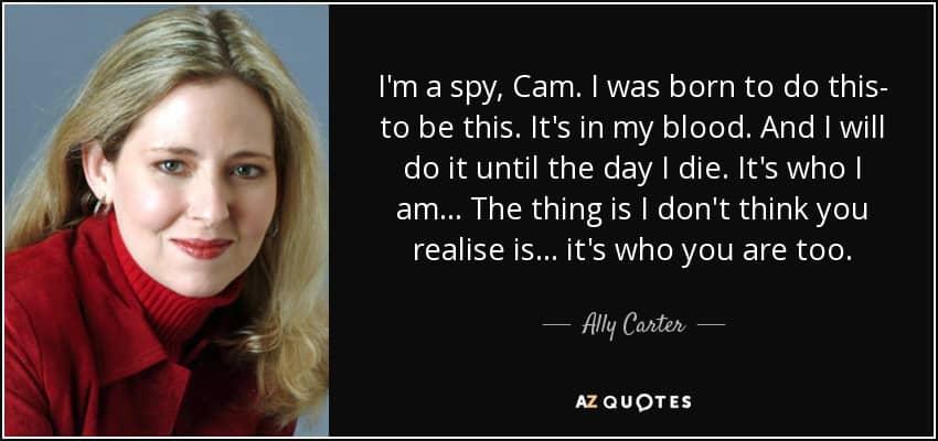 spy quote 7