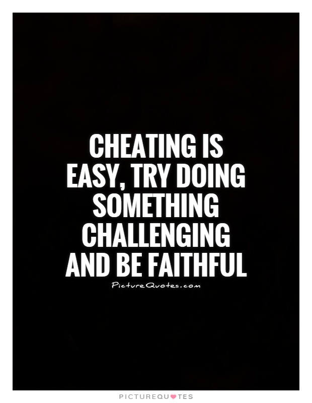cheating quotes 23