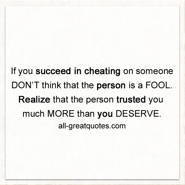 cheating quotes 7