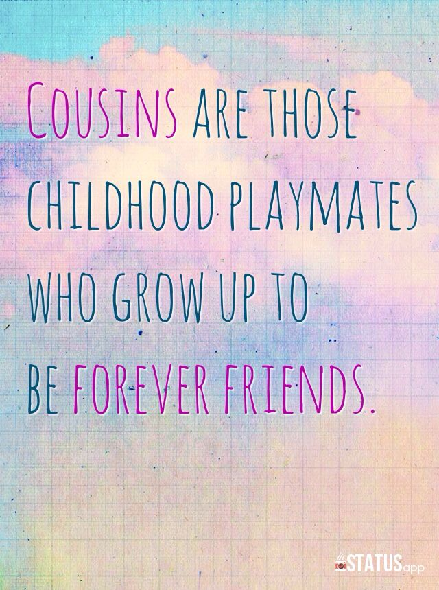 cousin quotes 7