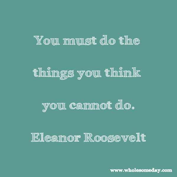 eleanor roosevelt quotes 14