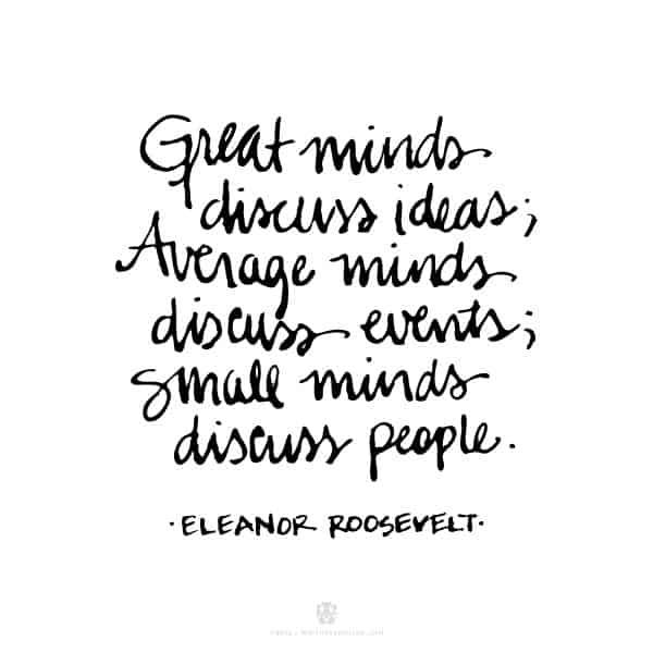 eleanor roosevelt quotes 16