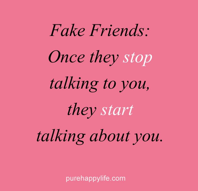 fake friends quotes 33