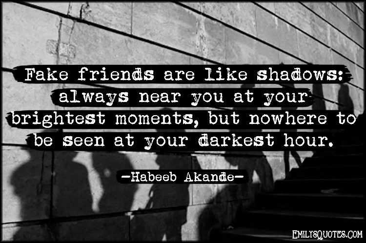 fake friends quotes 50