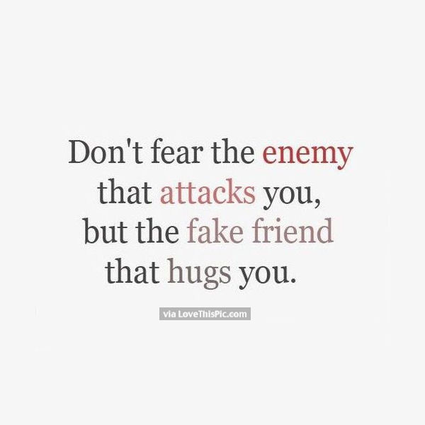 fake friends quotes 7