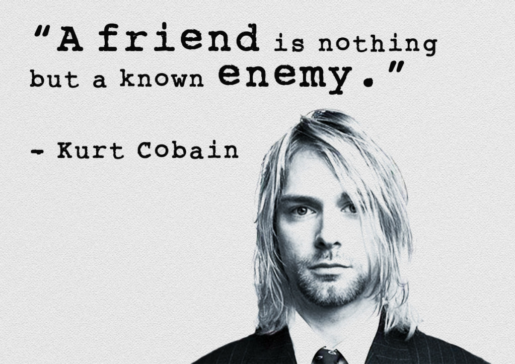 kurt cobain quotes 1