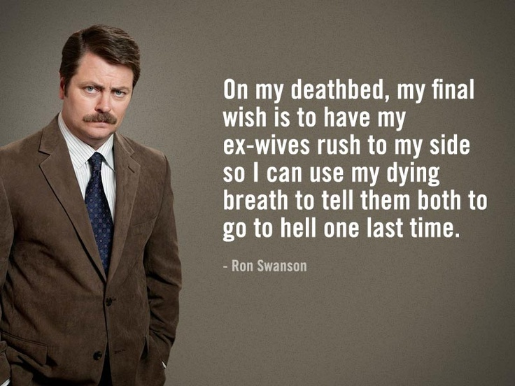ron swanson quotes 00