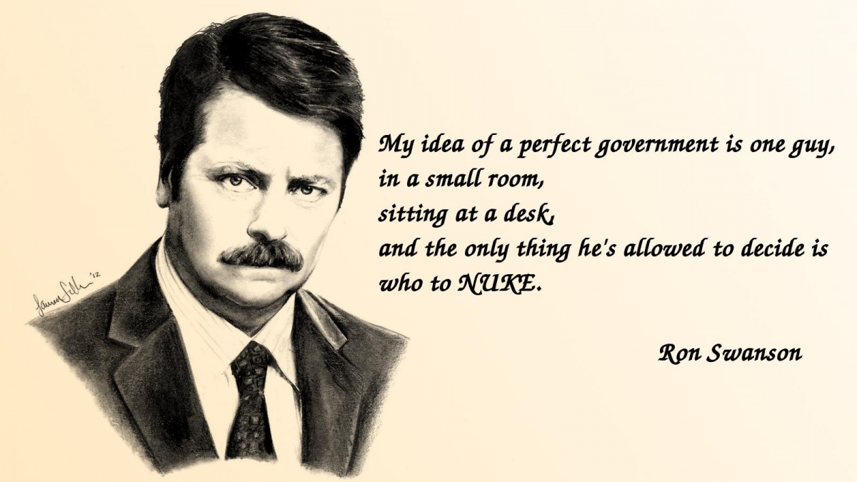 ron swanson quotes 11