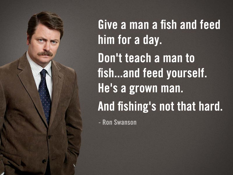 ron swanson quotes 17