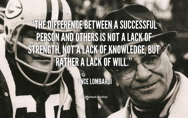 20 Vince Lombardi Quotes To Learn From – QuoteVill